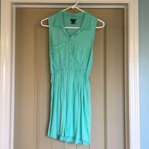 Turquoise rue 21 dress
